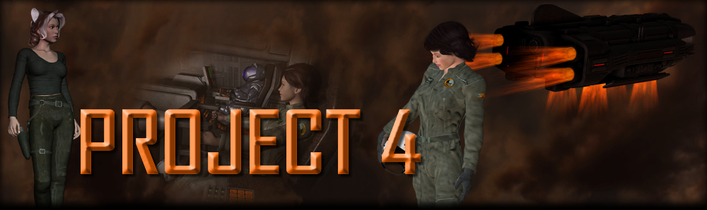 Project 4 - a scifi story about a day in the life of two women. © 2011, David Faige.